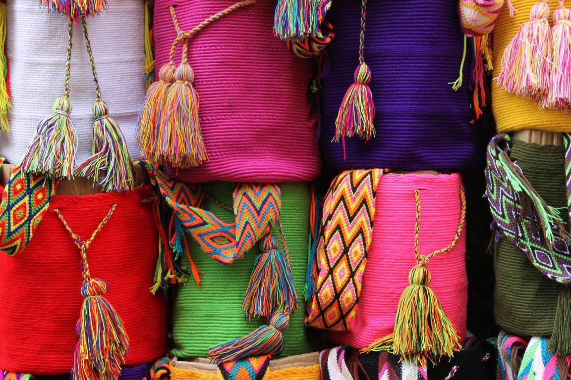 Mochilas als Symbol für Kolumbien Impressum